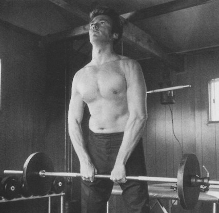 clint eastwood workout